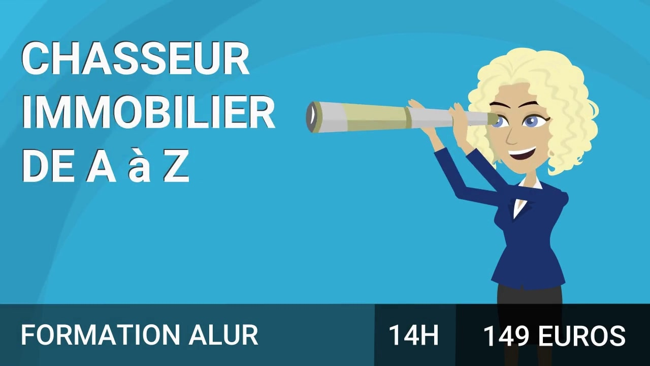 Chasseur immobilier course image