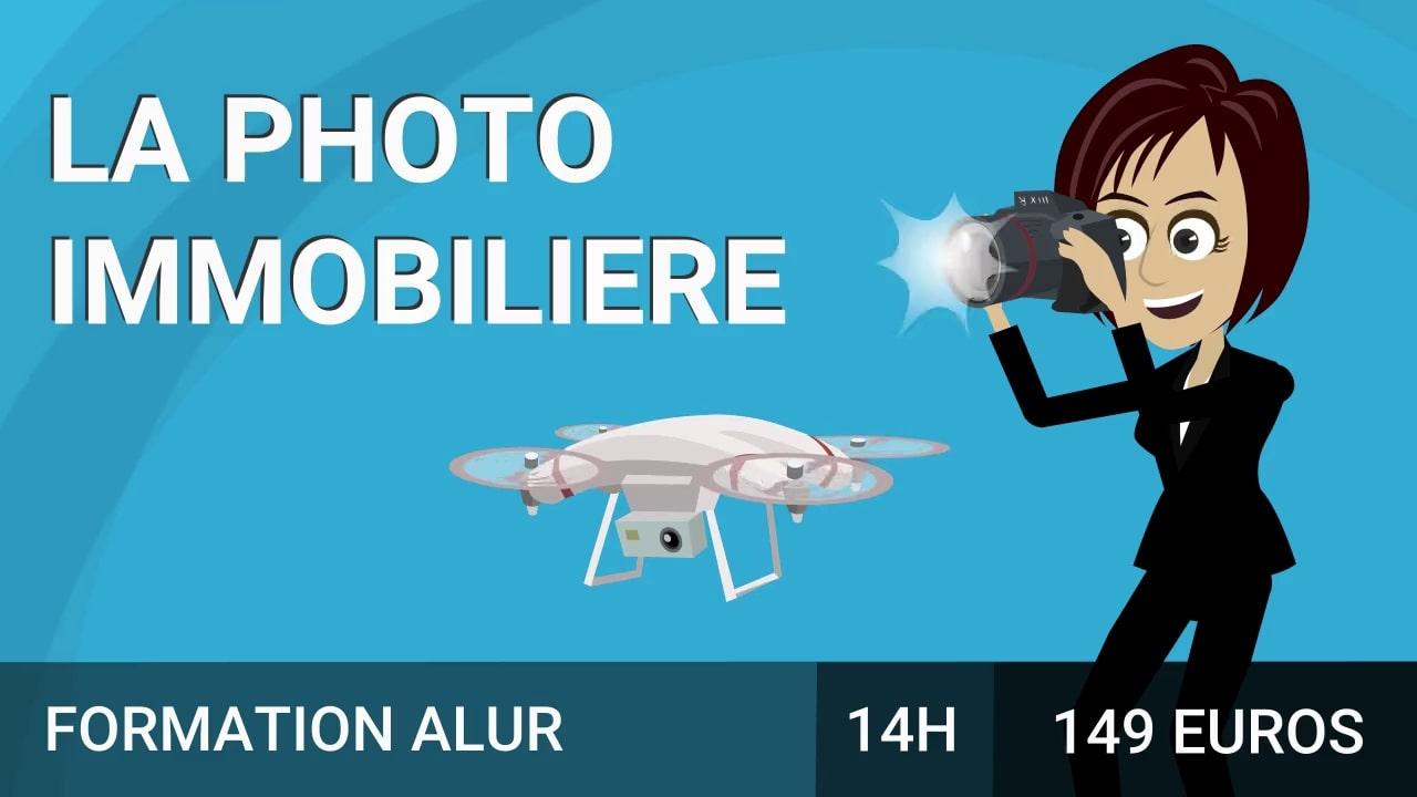 La photo immobilière course image