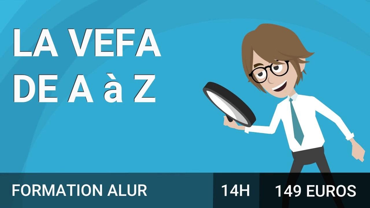La VEFA de A jusqu'à Z course image