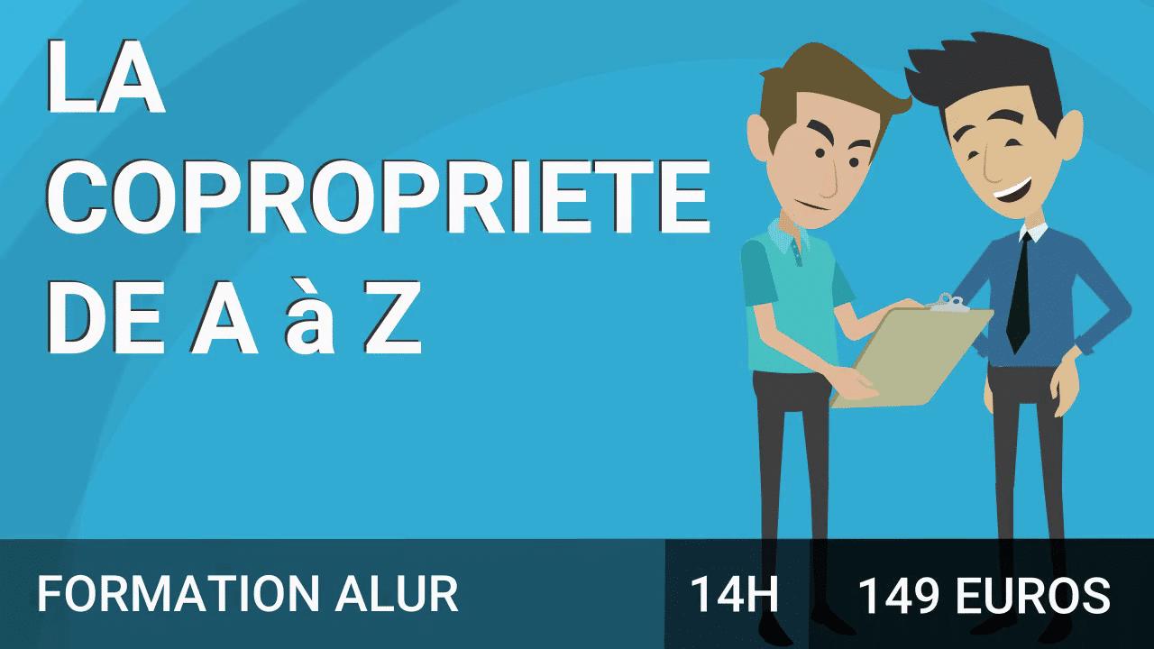La copropriété de A jusqu'à Z course image