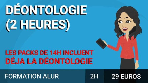 Déontologie immobilière course image