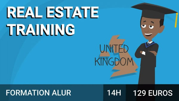 Real estate training course image