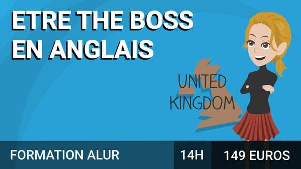Etre The Boss en anglais course image