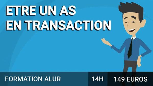 Etre un As en Transaction course image