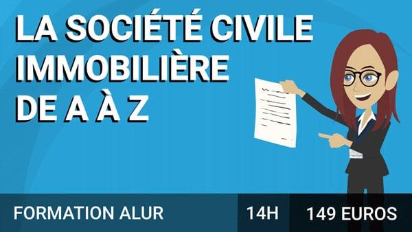 La société civile immobilière de A à Z course image